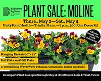 Big Brothers Big Sisters Plant Sale 2019